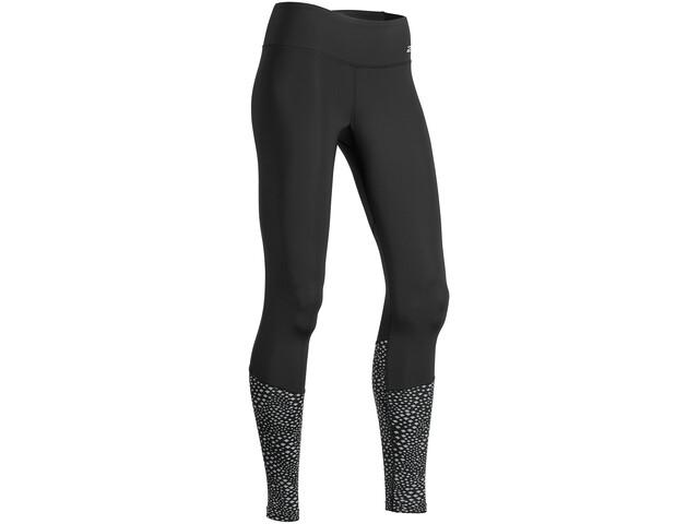 2XU Refl Run Mid Tights with Back Stor Dam black/silver glo reflective